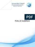 IB Policy Guidelines