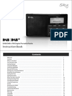 Aves - User's Manual_DAB Radio_Sky