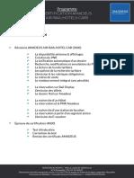 Programme Certification AMADEUS