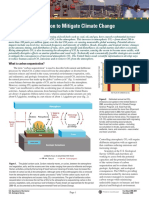 Carbon Dioxide Sequestration for Global Warming Mitigation
