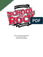 School of Rock Script FINAL