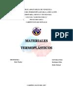 Materiales Termoplasticos