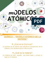 modelos atomicos QUIMICA