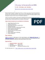 Signal & Image Processing  An International Journal (SIPIJ).docx