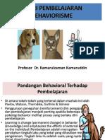 Bab 10 - Teori Pembelajaran Behaviorisme