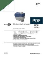 SSC31 Siemens Pogon Ventila 230V