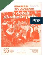 Avsenik - Album Za Harmoniko - Zvezek 30