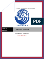 SEED Group . Profile