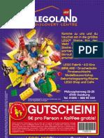 LegoLand Discovery centre Duisburg Voucher