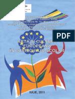 Arta Si Cultura Europeana in Curriculum Scolar