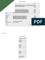 budget ii - budget sheet 1