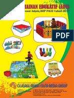 Brosur Ape 2017 Mainan Edukasi Paud Tk