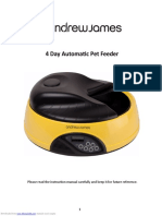 4 Day Automatic Pet Feeder