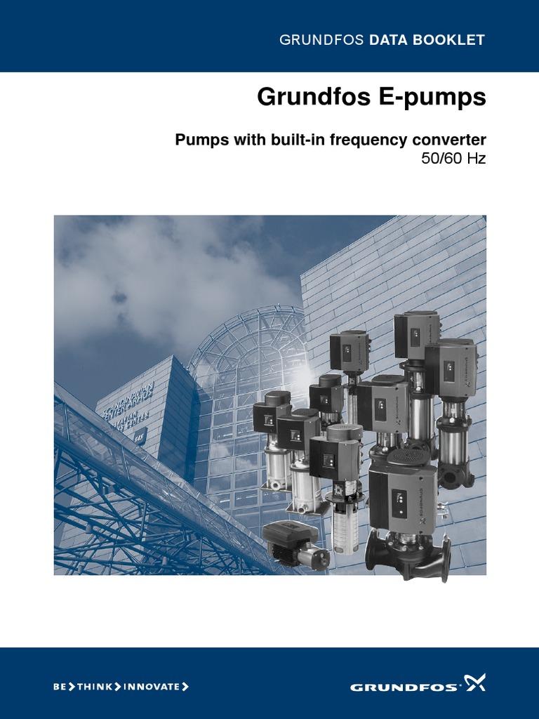 Grundfos E Pumps Pump Relay Pompa Celup Kp 150a