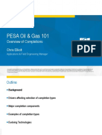 Completions and Flow Equipment Chris Elliott Oil and Gas 101 2016