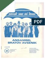 Avsenik - Album Za Harmoniko - Zvezek 41
