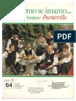 Avsenik - Album Za Harmoniko - Zvezek 64