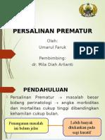 referat kelahiran prematur
