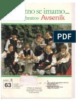 AVSENIK ALBUM - Za Harmoniko - Zvezek 63