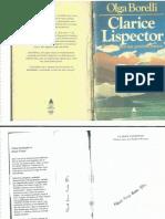Olga Borelli - Clarice Lispector - Esboço Para Um Possível Retrato (1981)