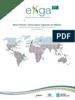 Nota Tecnica Como Hacer Negocios en Mexico