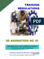 Tr - 3d Animation Nc III