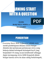 Learning Start With a Question