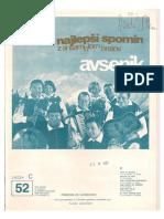Avsenik Album - Za Harmoniko - Zvezek 52