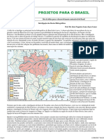Interligação das Bacias Hidrográficas Brasileiras