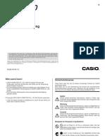 Casio CWL300 De
