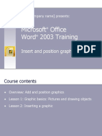 Microsoft Office Word Picture Tutorial