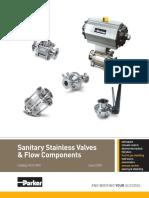 Parker Sanitary Valves & Components.pdf