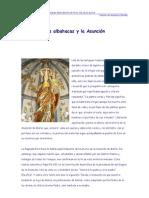 Las albahacas y la Asunción