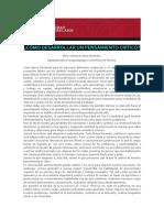 como desarrollar un pensamiento critico.pdf
