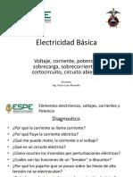 Electricidad Basica Cap 01 - 01 Voltaje Corriente Potencia