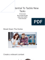 Your Potential to Tackle New Tasks Ppt