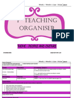 Teaching Organiser