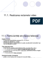 C11. Realizarea Reclamelor Video 2017