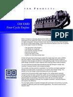 EMD H Engine