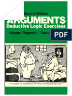 Arguments - Deductive Logic Exercises