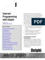 Internet Programming With Delphi