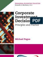 Corporate Investment Decisions