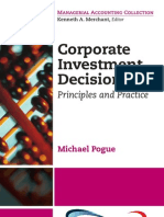 Corporate Investment Decisions
