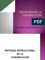 Psicología de La Comunicación y Sistemas Clase