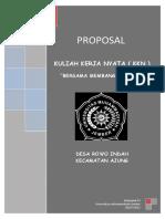 Contoh Proposal Kegiatan Kkn