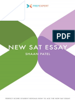 Prep Expert New Sat Essay Shaan Patel
