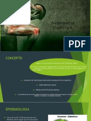 neuropatía en diabetes pdf