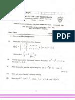 Engg Mathematics III