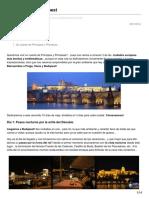 Praga Viena y Budapest