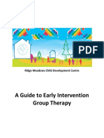 A Guide to Early Intervention Group Therapy